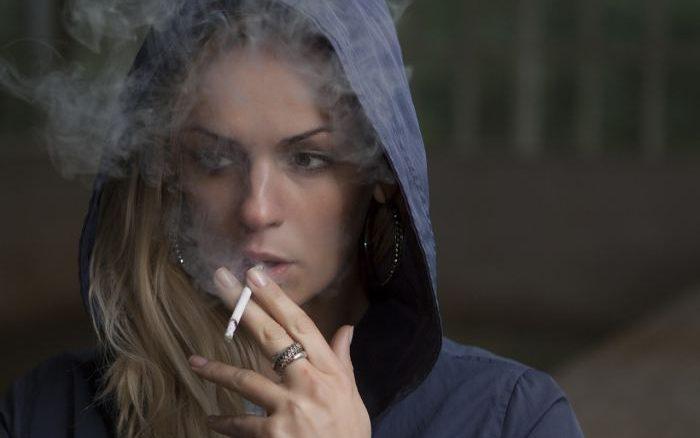 tabaco mujer