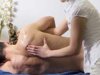 dolor de espalda masaje